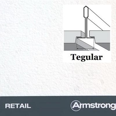 Потолочная плита Armstrong Riteail Tegular 595х595х13мм Германия