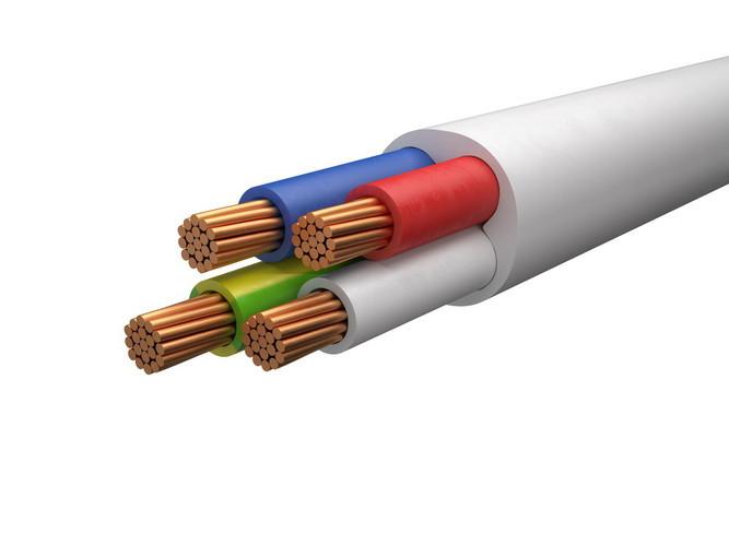 Провод соединительный ПВС 4х6 ГОСТ