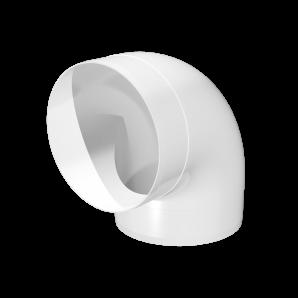 Колено круглое 90° ПВХ Д150 ЭРА ККП15