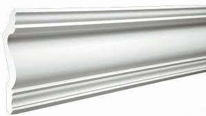 Плинтус потолочный пенополистирол 50мм 2м