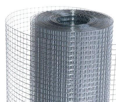 Сетка сварная оцинкованная 25х25х1,6мм 1х25м