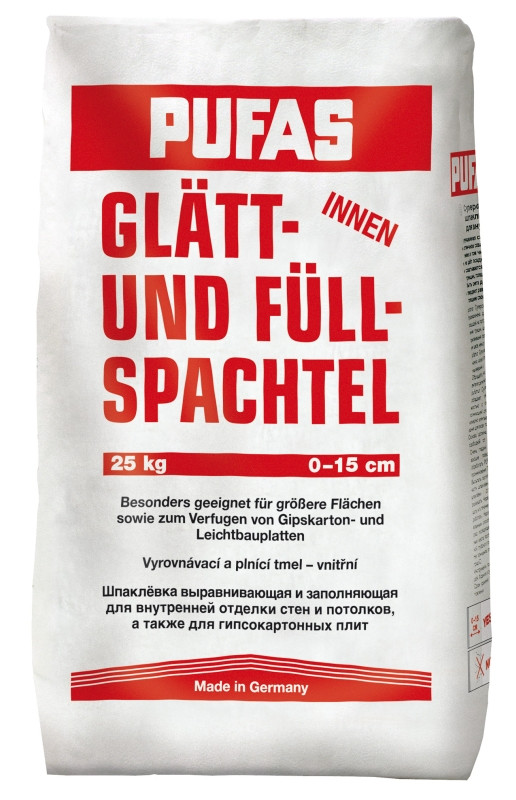 Шпатлевка гипсовая Pufas Glatt Und Full Spachtel 20кг