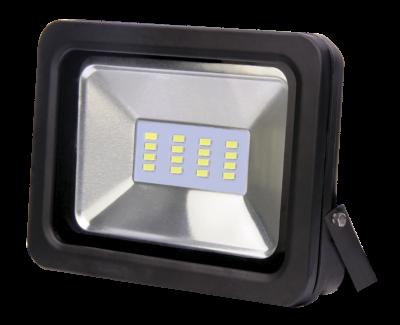 Прожектор светодиодный СДО-07-10 черный IP65 ASD