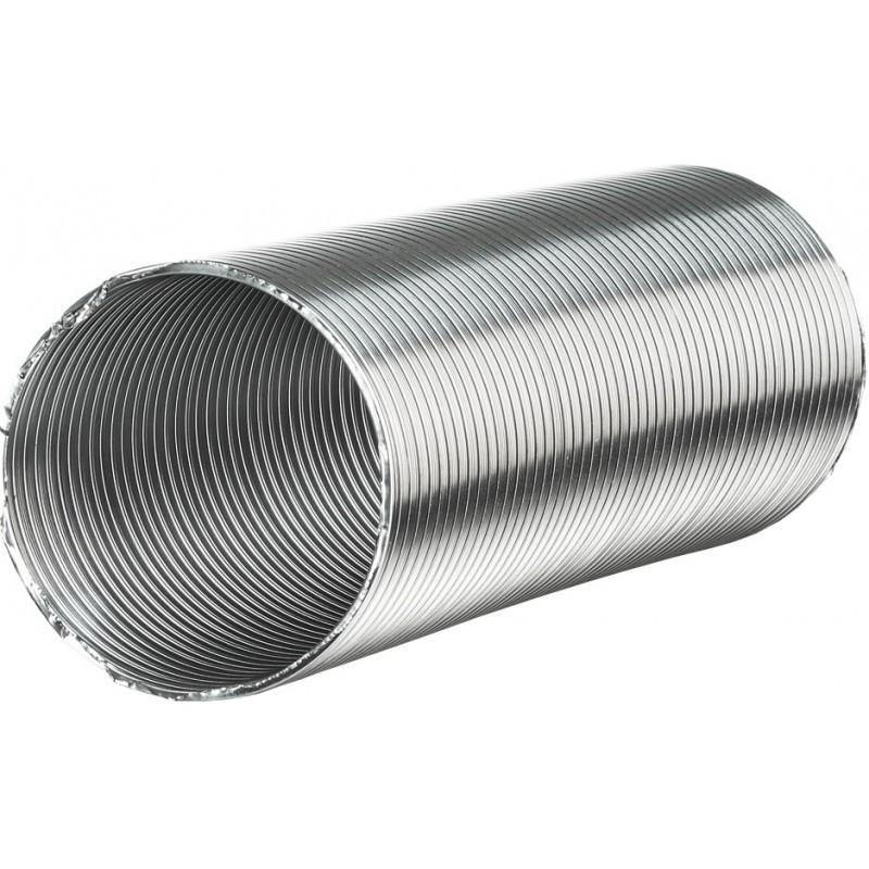 Воздуховод гибкий гофрированный алюминиевый Д 110 х 3 м (ЭРА)