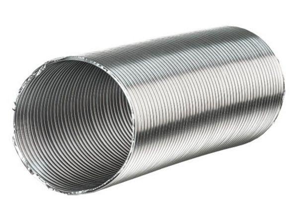 Воздуховод гибкий гофрированный алюминиевый Д 250 х 3 м (ЭРА)