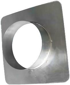 Фланец оцинкованный для воздуховода Д 125 мм