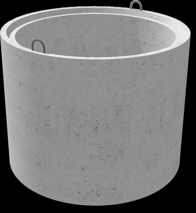 размеры бетонных колец с замком
