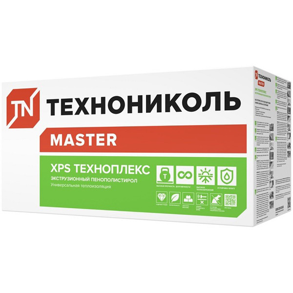 Теплоизоляция Техноплекс XPS Г4 1200х600х20мм (14,4м2; 0,288м3)
