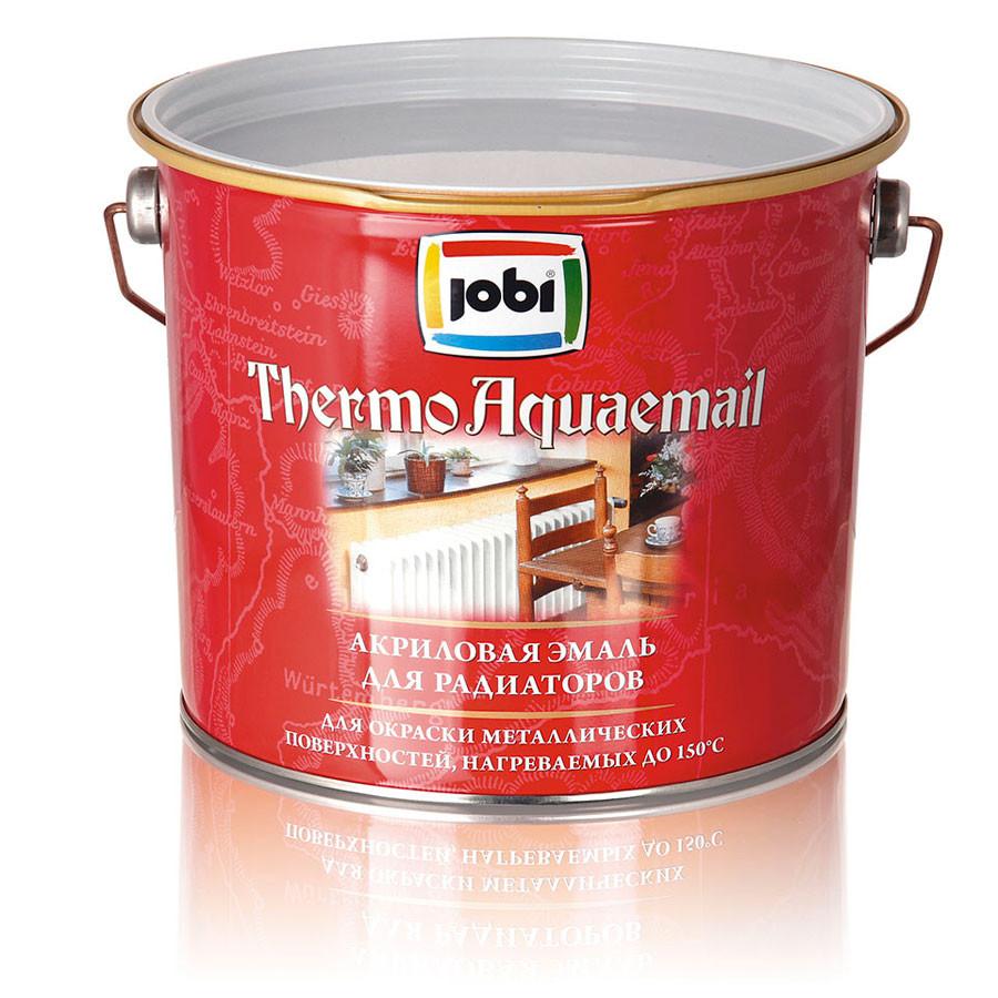 Эмаль акриловая для радиаторов быстросохнущая Jobi Thermoaquaemail [ТермоАкваэмаль) 2,7л