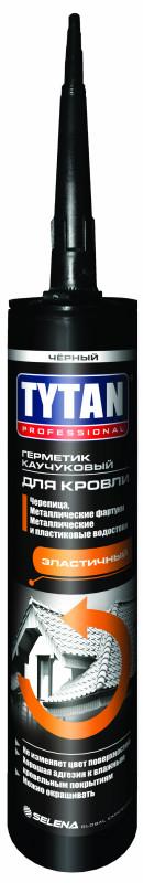 Герметик каучуковый Tytan Professional для кровли бесцветный 310мл