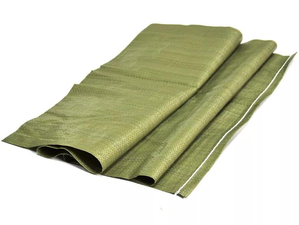 Мешки для строительного мусора зеленые 50х90мм