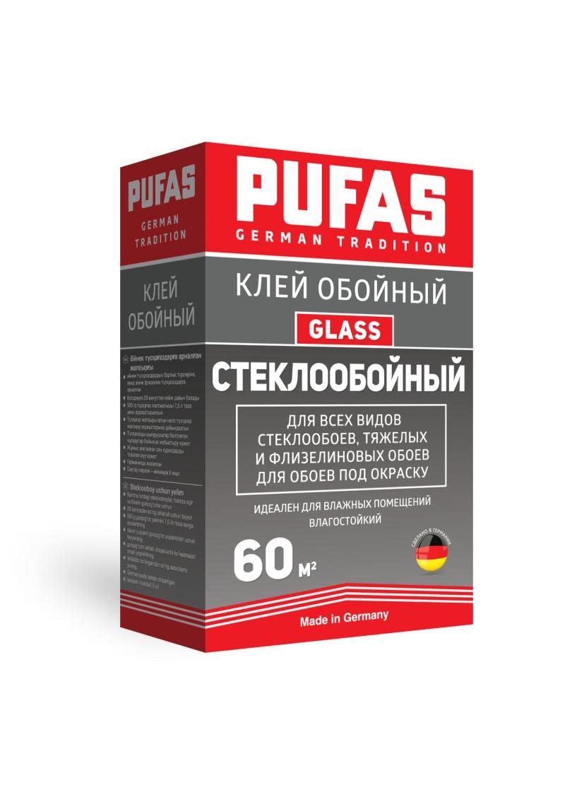Клей обойный Pufas Glass Стеклообойный 500г