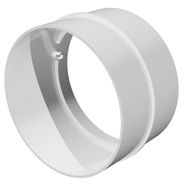 Соединитель для круглых каналов пластик Д150 ЭРА 15СКП