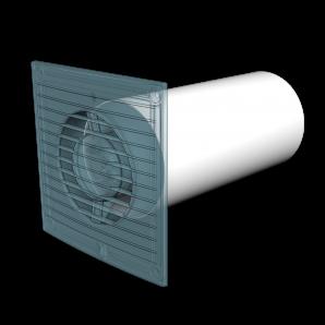Воздуховод круглый ПВХ Д100 L=2м ЭРА 10ВП2